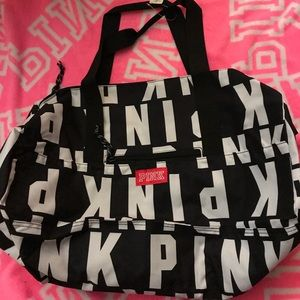 Victoria's Secret Pink Logo Duffle,New